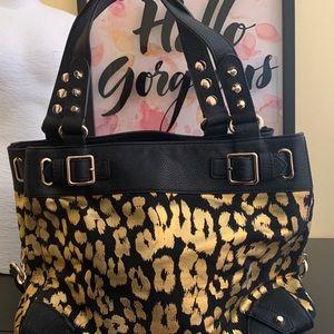 Juicy Couture medium cross body leopard print bag